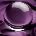 Fotós üveggömb, fotógömb - 6cm