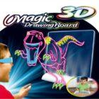 Magic 3D rajztábla gyerekeknek