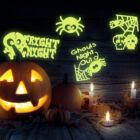 Halloween-i foszforeszkáló matrica (1 darab)