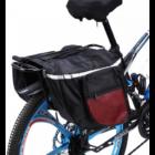 Dupla kerékpártáska
