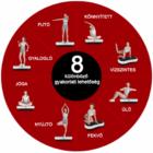 Vibrációs tréner (fekete-piros)