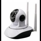 Mozgatható WIFI kamera 2 antennával, P2P