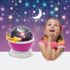 LED csillagos égbolt mini projektor (pink)