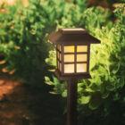 LED-es napelemes lámpa (lángokat imitáló)
