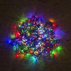 Fényfüzér LED színes (hálózati, 5 méter, 8 program)