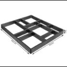 Műanyag térkősablon (44 x 39 x 4 cm)