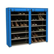 Mobil cipőtároló szekrény (kék)