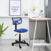 Alacsony háttámlás irodai szék (kék)
