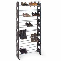 10 soros cipőtartó (fekete)
