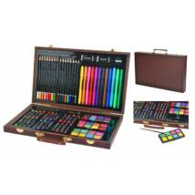 81 részes rajz és festőkészlet kezdő művészeknek