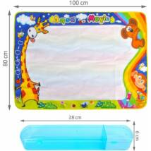 Nagy vízszőnyeg bélyegek festéséhez 100x80 cm