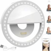 LED gyűrűs lámpa szelfizéshez