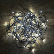 100 LED-es napelemes égősor (kül- és beltéri)