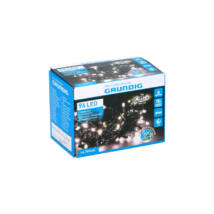 Grundig 96 LED-es, 8 funkciós elemes fényfüzér, kül -és beltéri (melegfehér)