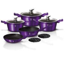 10 részes edénykészlet, Metallic Line Royal Purple Edition