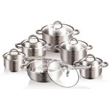 12 részes edénykészlet, Jumbo (szatén)