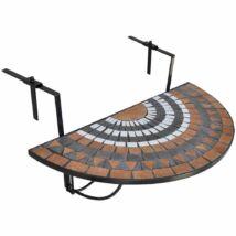 Lehajtható balkon asztal (barna)