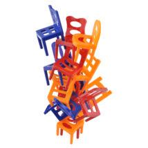 Harc a székekkel társasjáték