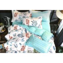 7 részes Sendia ágyneműhuzat garnitúra (Levelek, kék)