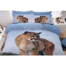 7 részes Sendia ágyneműhuzat garnitúra 3D állatos mintával (Puma)