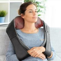Shiatsu elektromos masszírozó nyakra, vállra és hátra