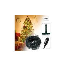 240 LED-es karácsonyi fényfüzér (8 mozgó beállítással, melegfehér)
