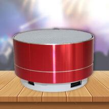 Mini design bluetooth hangszóró (vörös)
