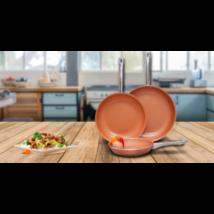 3 részes Chef's Pan serpenyőszett
