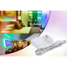 Hajlékony elemes LED szalag, 1 méter (RGB)