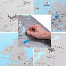 Európa kaparós térkép