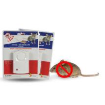 Ultrahangos egér és patkány riasztó (2 darabos csomag)