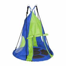 Fészekhinta sátorral (110 cm, kék)