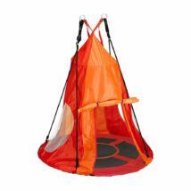 Fészekhinta sátorral (110 cm, piros)