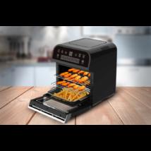 Cuisinier Deluxe olaj nélküli fritőz és sütő (12 liter, 1600W)