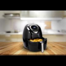 Cuisinier Deluxe olaj nélküli fritőz (1400W, 3,2 literes)