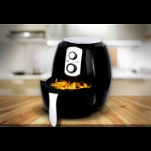 Cuisinier Deluxe olaj nélküli fritőz (1400W, 3,6 literes)
