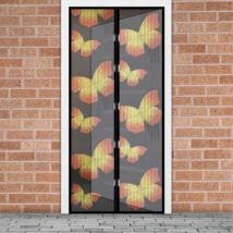 Mágneses szúnyogháló függöny ajtóra (100 x 210 cm, pillangós)