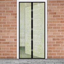 Mágneses szúnyogháló függöny ajtóra (100 x 210 cm, Virág mintás)