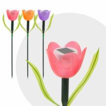 LED-es szolár tulipánlámpa (44 cm)