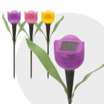 LED-es napelemes tulipánlámpa (30 cm)