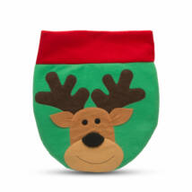 Karácsonyi WC ülőke dekor rénszarvas mintával