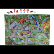 80×120 cm-es gyermek játszószőnyeg kiegészítőkkel