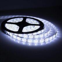 5 méteres hideg fehér színű LED szalag (szilikonos bevonattal)
