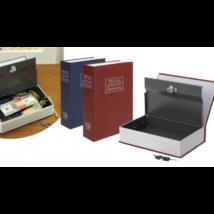 Könyv alakú biztonsági doboz (piros)