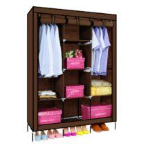Mobil ruhás szekrény (barna)