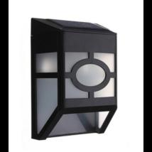 Kültéri szolár lámpa (fekete)