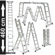 Összecsukható alumínium létra (4,6 méter)