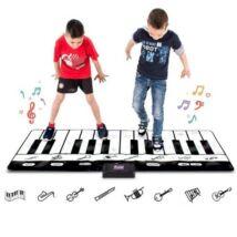 Óriás elektromos zongora játékszőnyeg