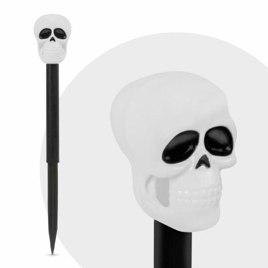 Halloween-i Led-es szolár lámpa (koponya)