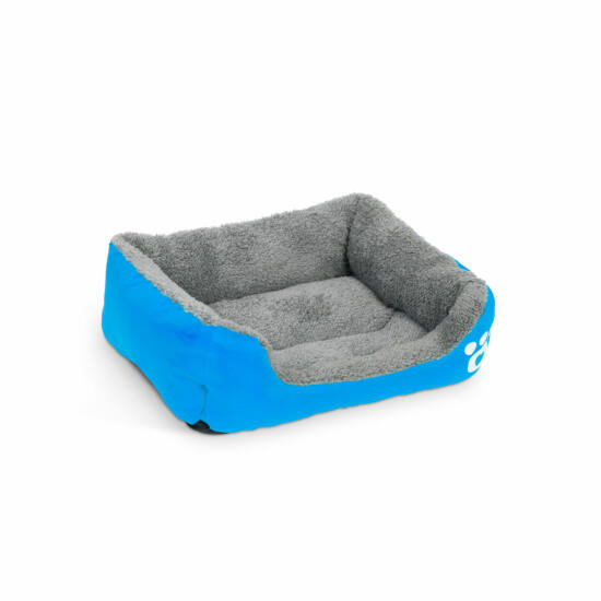 Kutyafekhely (S méret, 42 x 32 cm, kék)